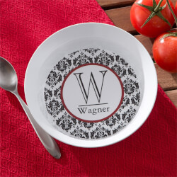 Personalized Melamine Bowl -..