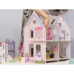 Lille Huset: Cardboard Dollhouses