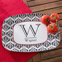 Personalized Melamine Serving..