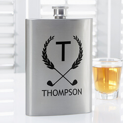 Personalized Premium Pocket Flask..
