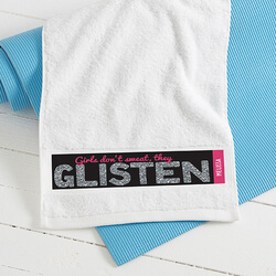 Personalized Womens Gym Towels -..
