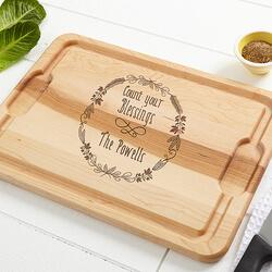 Personalized Kitchen Maple Cutting..