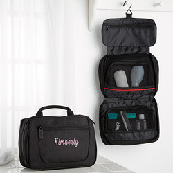 Ladies Embroidered Travel Case