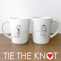 Tie The Knot™ Bride & Groom..