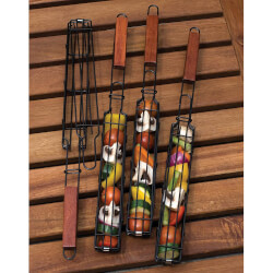 Kabob Grilling Baskets - Set Of 4