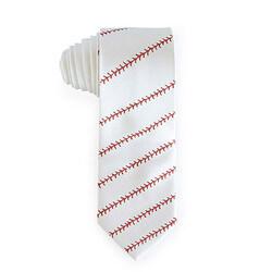 Baseball Stitching Tie