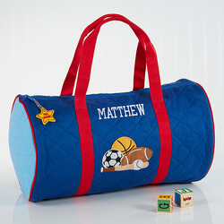 Boys Personalized Sports Duffel..