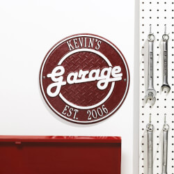 Personalized Garage Outdoor Wall..