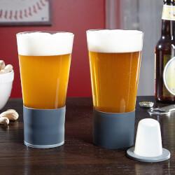Self-Chilling Beer Glasses, Set..