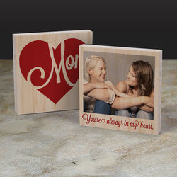 In My Heart - Personalized 6 X 6..