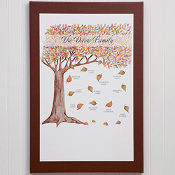Fall Family Tree 20x30..