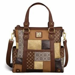 Jose Hess Patchwork Handbag
