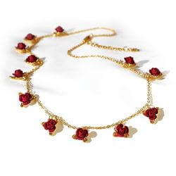 A Dozen Roses Necklace