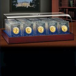 U. S. Presidential Dollar Crystal..
