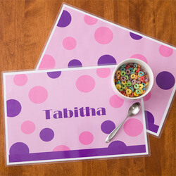 Personalized Placemats For Girls -..