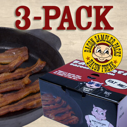 Bacon Is Meat Candy Bacon Sampler..