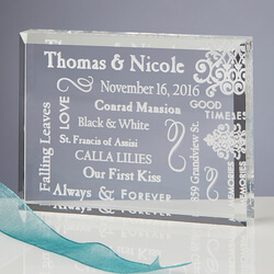 Personalized Romantic Keepsake..