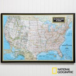 Personalized United States Map..