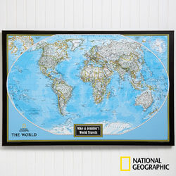 Personalized World Map From..