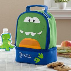 Boys Personalized Dinosaur Lunch Bag