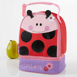 Personalized Lunch Bags - Ladybug