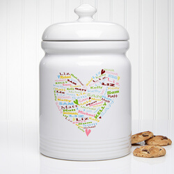 Personalized Cookie Jars - Her..