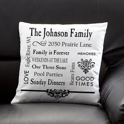 Personalized Keepsake Pillow -..