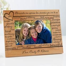 Personalized Wood Picture Frames -..