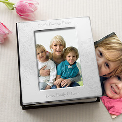 Engraved Silver Picture Albums For..