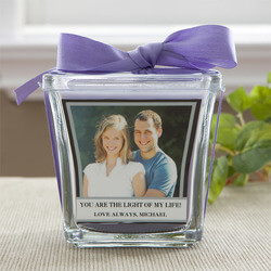 Personalized Photo Candles - For..