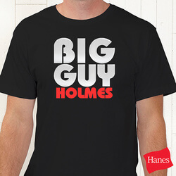 Personalized T-Shirts - Big Guy..