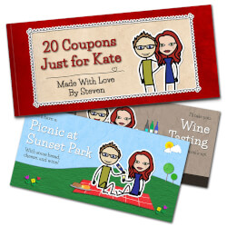 Romantic Love Coupons By LoveCoups