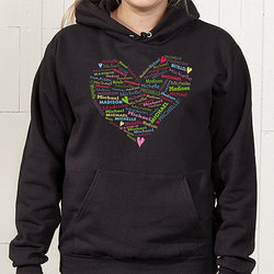 Personalized Womens Hooded..