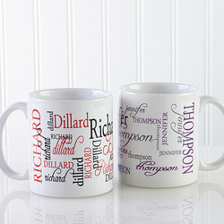 Personalized Coffee Mugs - My Name..