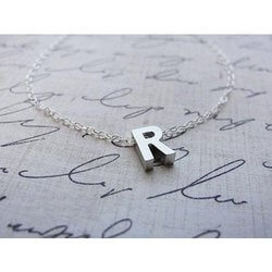 Olive Yew Jewels: Initial Necklace