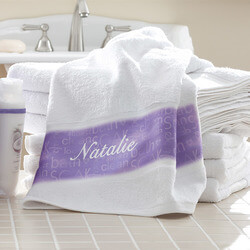 Personalized Bath Towels -..