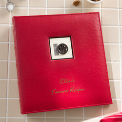 Personalized Recipe Binder Kitchen..