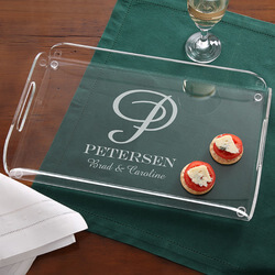 Personalized Serving Tray -..