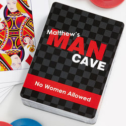 Personalized Playing Cards - Man..