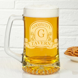 Personalized Beer Mugs - Engraved..