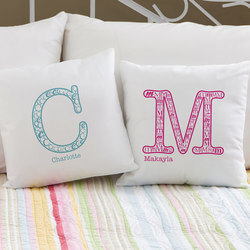 Personalized Kids Pillows - Name &..