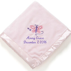 Personalized Girls Pink Baby..