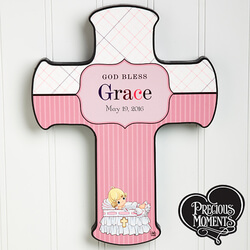 Personalized Christening Wall..