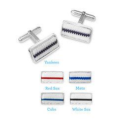 Pinstripe Cufflinks