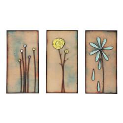 Handmade Copper Wall Flowers