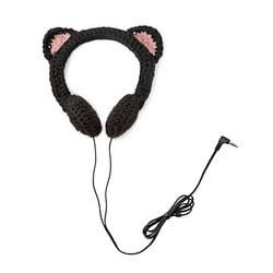 Black Cat Headphones