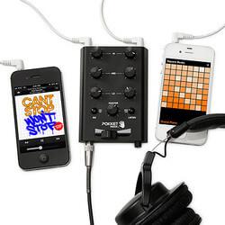 Pocket DJ Mixer