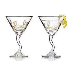 Stirred Martini Glasses - Set Of 2