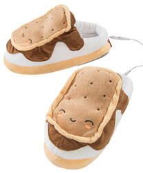 SMores USB Footwarmers