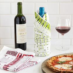 Wine Pairing Towel Set